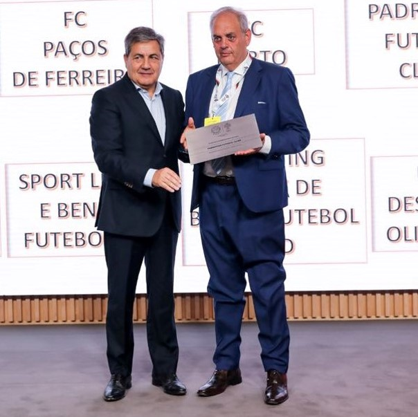 Padroense FC distinguido pela Federação Portuguesa de Futebol