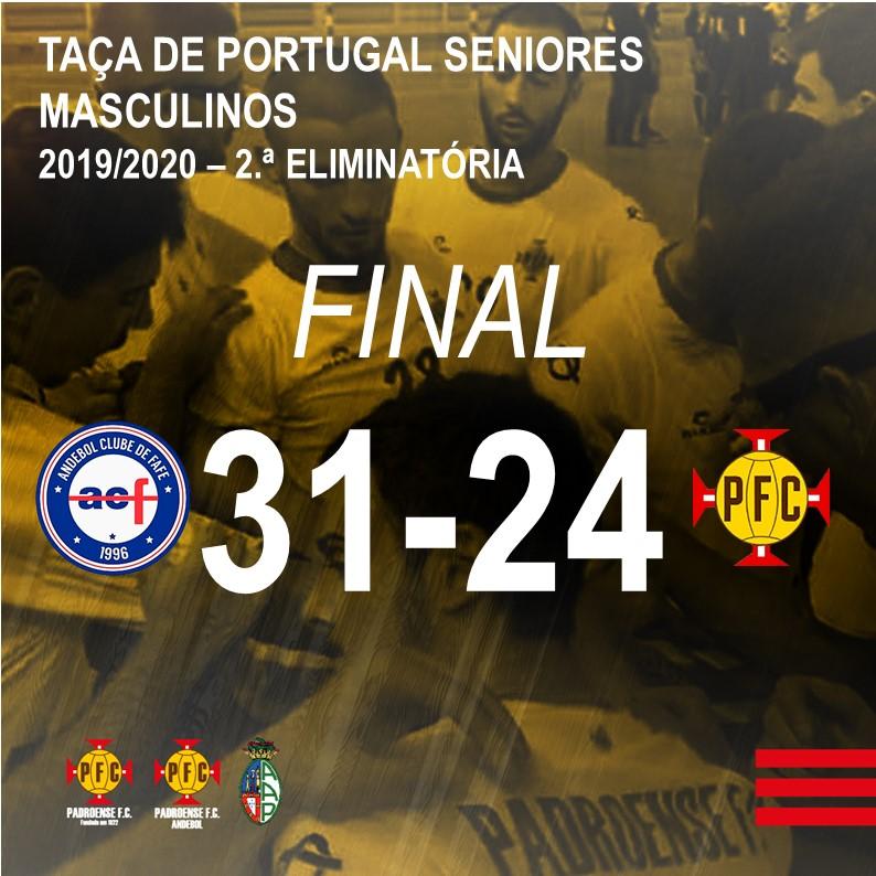 2.ª Eliminatória da Taça de Portugal – Andebol