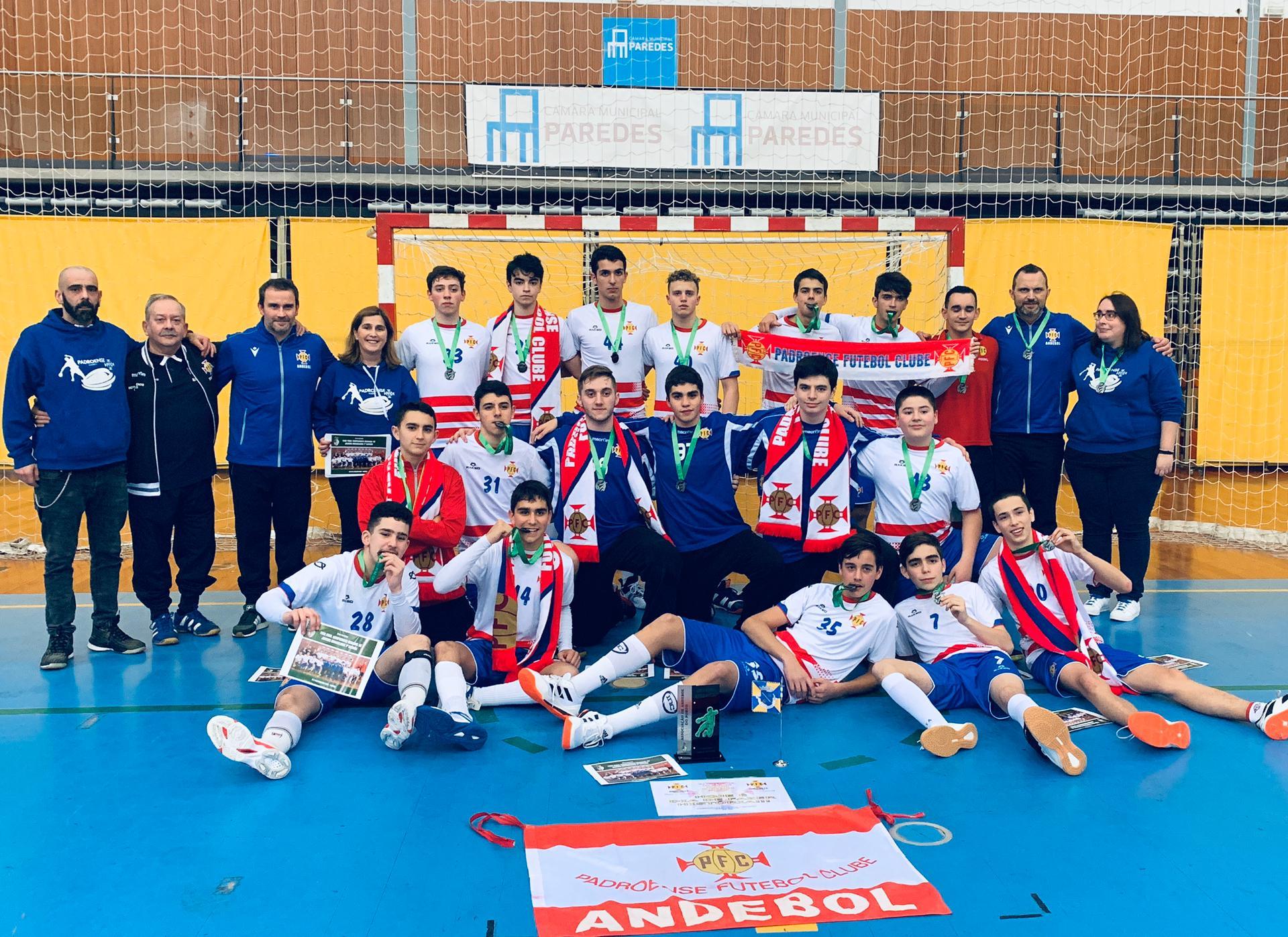 Campeões Regionais de Juvenis Masculinos