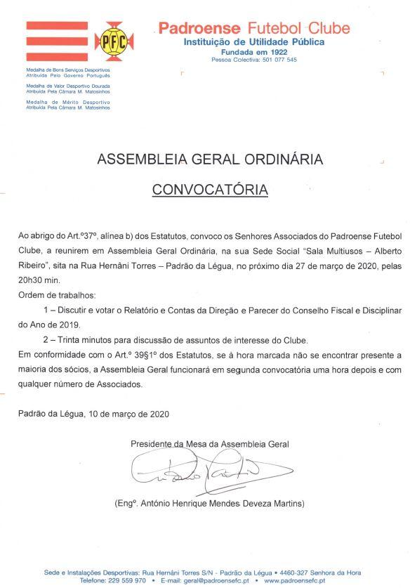 Assembleia Geral Ordinária_27.03.2020