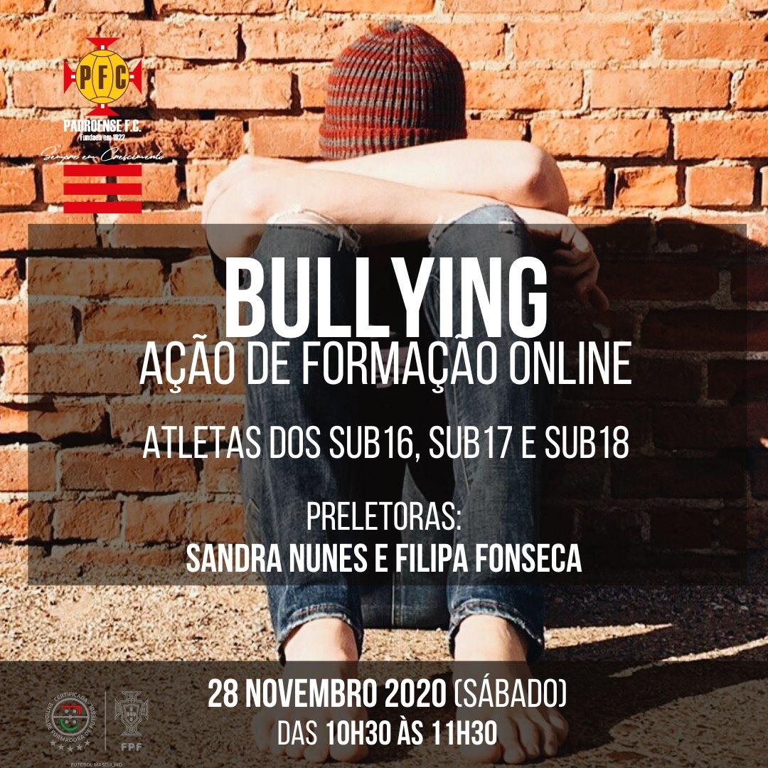 Ação de formação sobre bullying