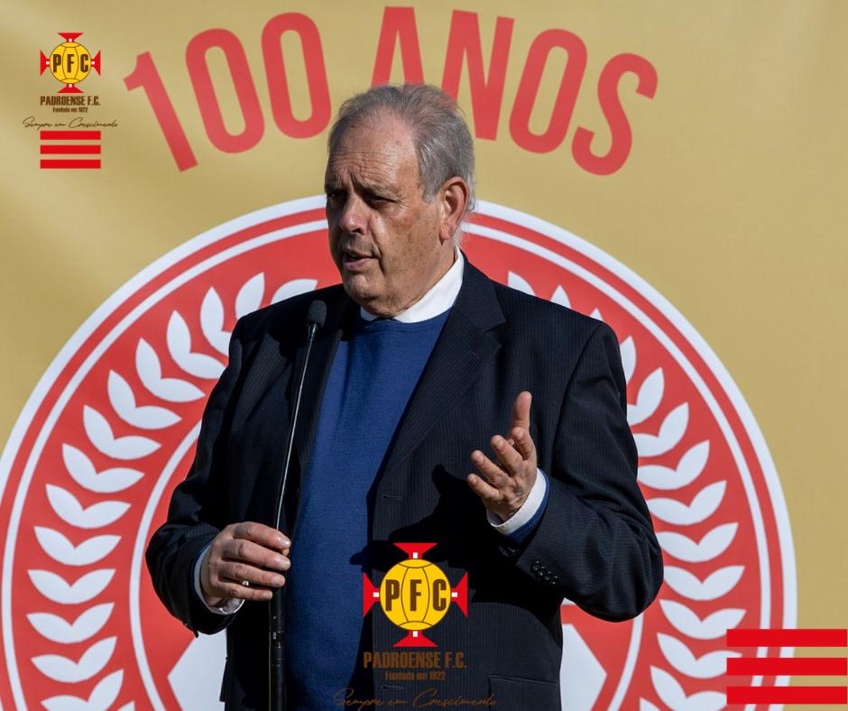 99.º ANIVERSÁRIO DO PADROENSE FC – CERIMÓNIA DE HASTEAR DAS BANDEIRAS