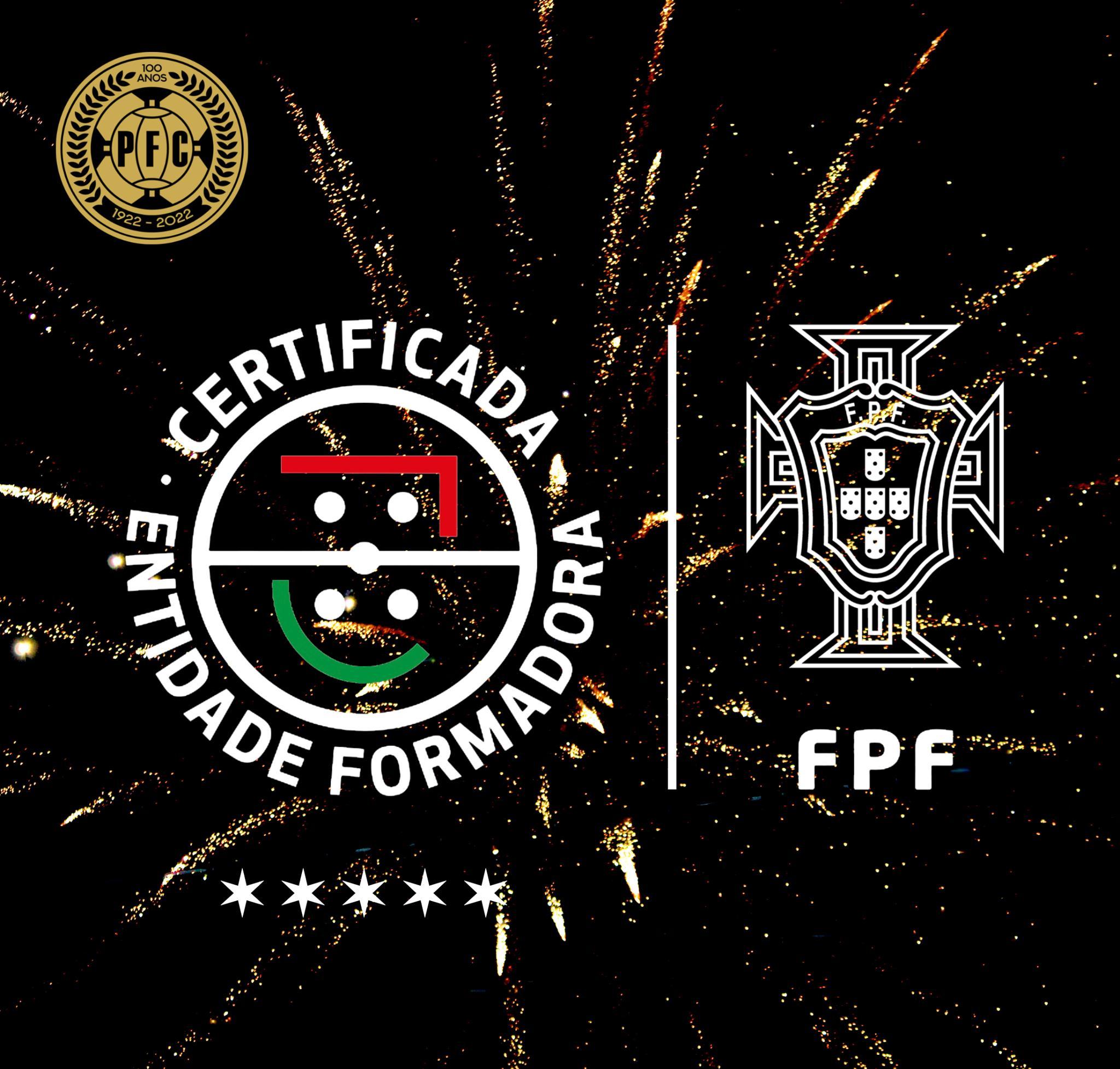 Padroense FC recebe, pela terceira vez consecutiva, a certificação de 5 Estrelas